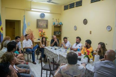El FPV de Vicente López  se reunió con vecinos de Villa Martelli