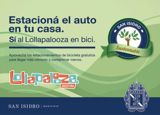 San Isidro recibe al Lollapalooza