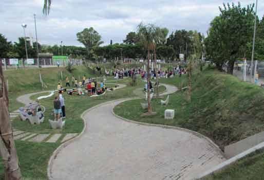 Jorge Macri inauguró el retén hidráulico Plaza La Paz