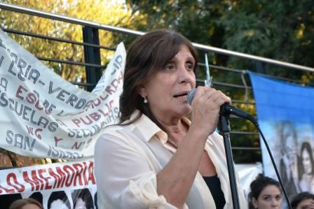 """Teresa García: Las tomas """"no son legales"""" y expuso que al Gobierno le preocupa que sean """"direccionadas"""""""
