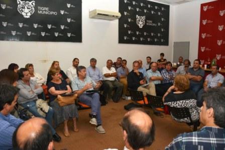 Nuevo encuentro del Consejo Económico y Social  de Tigre