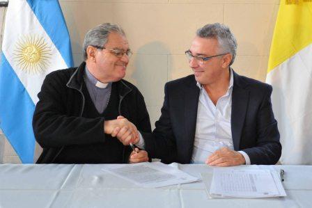 Tigre y el Obispado de San Isidro juntos por más acciones sociales