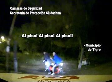 Dos detenidos tras una prosecución en Tigre
