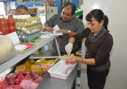 Realizan controles bromatológicos en carnicerías de San Martín