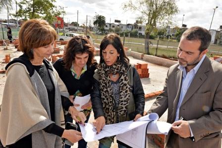 Avanzan las obras del futuro Centro Educativo Social de San Fernando