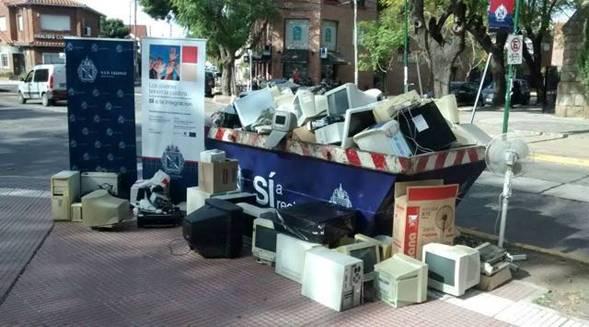 San Isidro impulsa el reciclaje de aparatos electrónicos