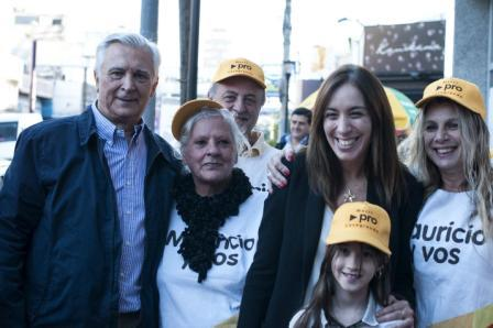 Maria Eugenia Vidal y Ricardo Ivoskus recorrieron juntos San Martín