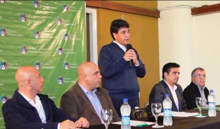 Vicente López anunció el acuerdo salarial alcanzado con los trabajadores municipales