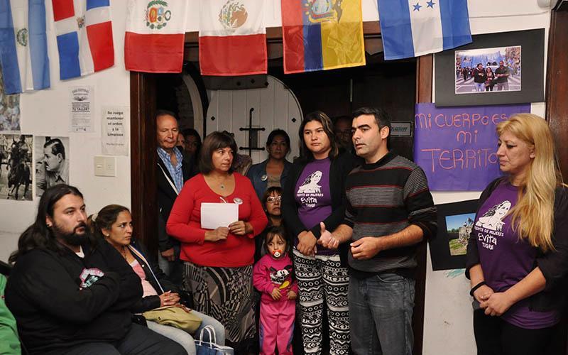 El FPV de Tigre presentó una línea que atenderá las 24hs a víctimas de violencia familiar