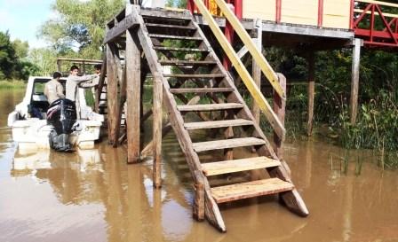Realizan numerosas tareas de mantenimiento en el Delta de Tigre