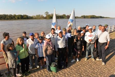 Notable éxito del Torneo de Pesca para la Tercera Edad en San Fernando