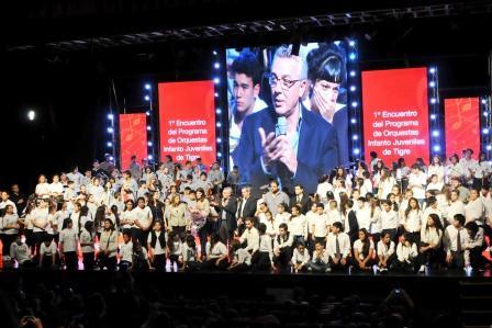Espectacular concierto de las Orquestas Infanto Juveniles de Tigre
