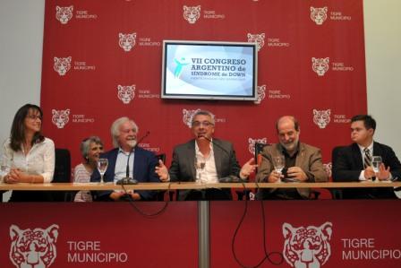 La presentación se realizó hoy en una conferencia de prensa en la que participaron Malena Galmarini y el intendente de Tigre, Julio Zamora.
