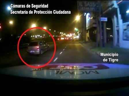 Detienen a un conductor alcoholizado en Tigre