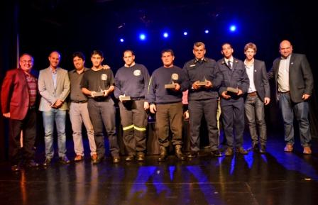 San Fernando brindó un reconocimiento a los Bomberos Voluntarios en su 119° Aniversario
