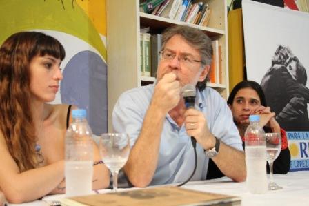Ricardo Forster disertó en Vicente López junto al Frente Para la Victoria