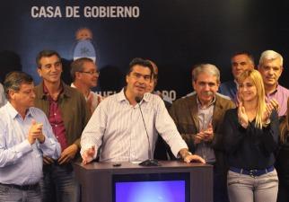 Capitanich dio como ganador de las paso de Chaco al oficialismo