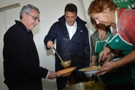 Massa y Zamora celebraron el 25 de Mayo en Tigre