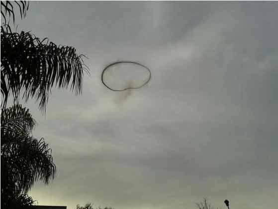 Que fué misterio del círculo negro que se vio ayer en Tigre