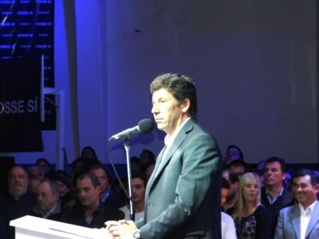 Posse anunció que se presentará a la reelección como intendente de San Isidro