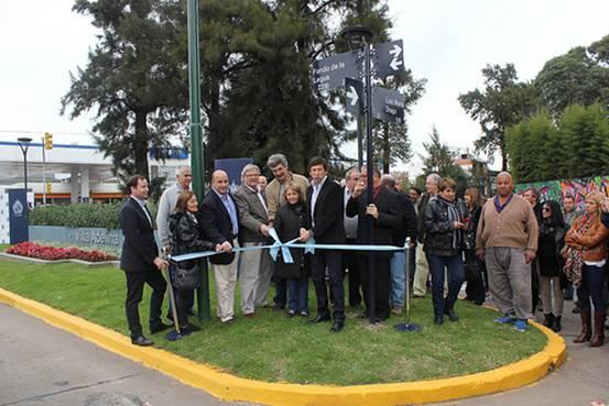 Se inauguró el renovado acceso a Villa Adelina
