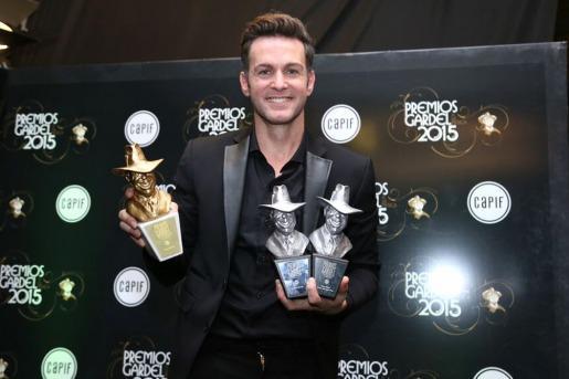 Axel fue el gran ganador de los Gardel 2015