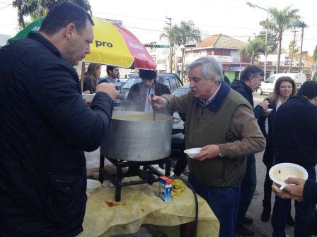 Ernesto Casaretto inauguró local de Cambiemos Tigre en Pacheco
