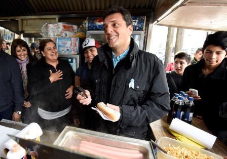 Sergio Massa visitó La Matanza