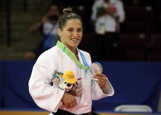 Paula Pareto ganó medalla de plata en los juegos Panamericanos de Toronto