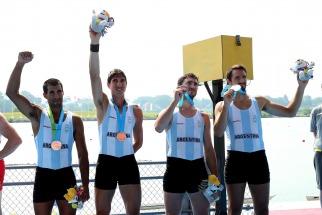 Joaquín Iwan, Francisco Esteras, Iván Carino y Agustín Díaz lograron bronce.