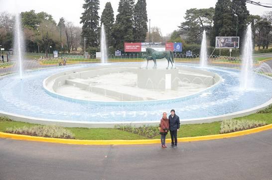 Se inauguró la renovada rotonda de Av. Márquez en San Isidro