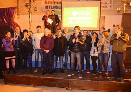 Con Luis Andreotti, se presentó en Virreyes oeste la lista de concejales del Frente Renovador