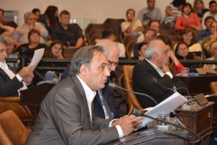 Presidente del Bloque de Concejales del Frente Renovador de Tigre, Rodrigo Molinos
