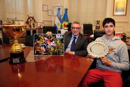 Un joven de General Pacheco participará en el Mundial Junior de Motocross