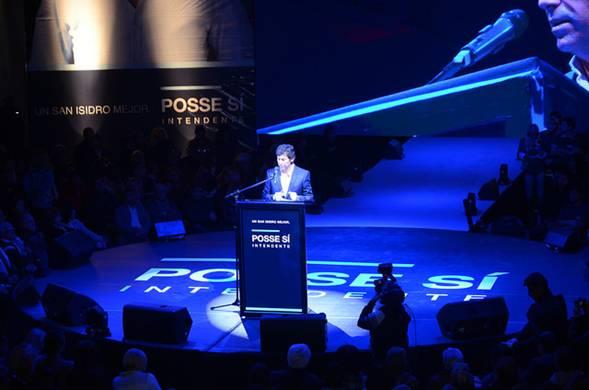 Gustavo Posse presentó su programa de gobierno