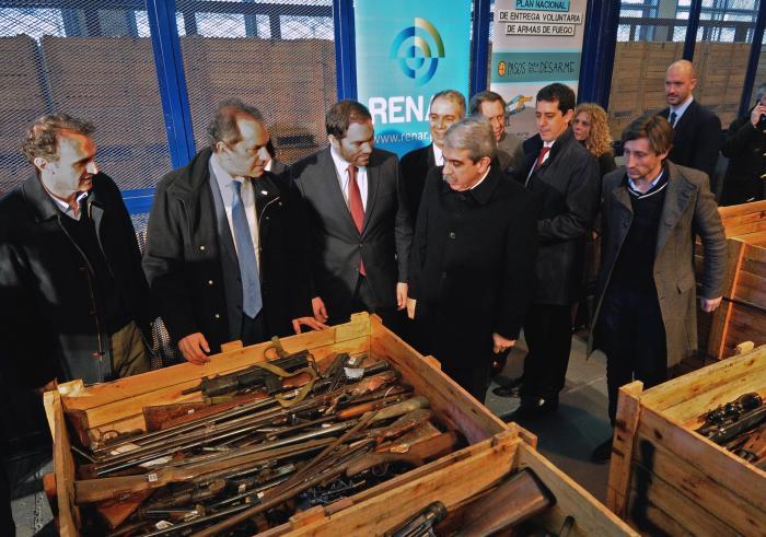 Destruyen más de 20 mil armas en San Martín
