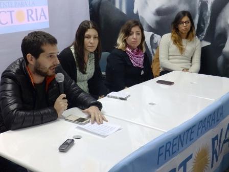 El FPV Tigre debatió sobre violencia de género y políticas de Estado