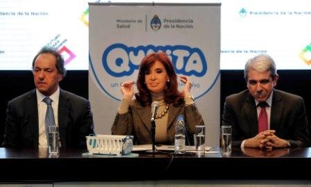 Cristina Fernández de Kirchner promulgó la ley de movilidad de asignaciones universales e inauguró Tecnópolis