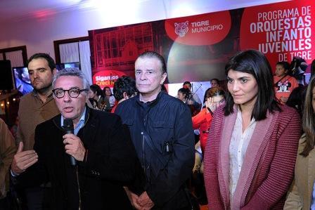 Se realizó un encuentro solidario para fortalecer el programa de Orquestas deTigre