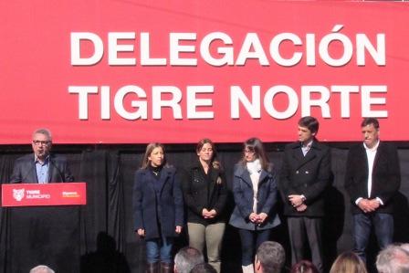 Se inauguró la nueva Delegación Tigre Norte