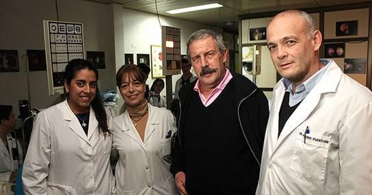 otro exitoso trasplante de córnea en el Hospital Central de San Isidro