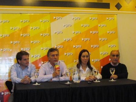 Macri y Vidal visitaron San Fernando en apoyo de Alex Campbell