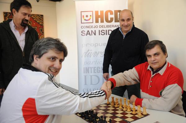 Se realizó un encuentro de ajedrez en el HCD de San Isidro