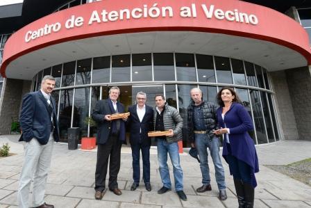 Cinco intendente de Uruguay visitaron el Centro de Operaciones Tigre