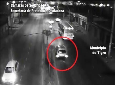 Espectacular persecución policial por las calles de Tigre