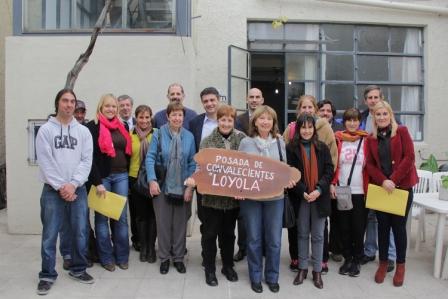 Vicente López firmó un convenio con la Fundación Camino a Jericó