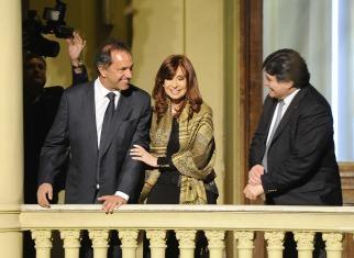 La Presidenta analizó la derrota con Scioli y Zannini