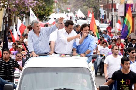 Massa, con Morales y De la Sota en Jujuy: