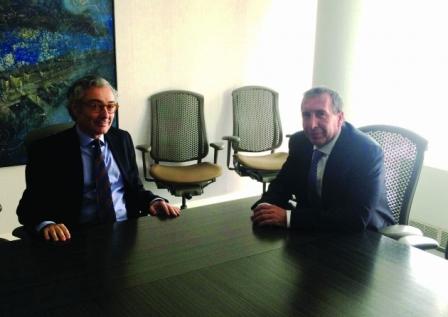 Szpolski se reunió con el presidente de Edenor