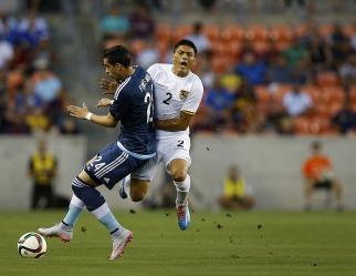 El Seleccionado Argentino goleó al de Bolivia en Houston